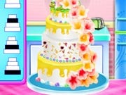 Play Ariel And Eric Wedding Cake Cooking Game on FOG.COM
