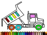 Play Dump Trucks Coloring Game on FOG.COM