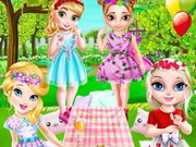 Play Little Princesses Park Party Game on FOG.COM