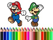 Play Bts Mario Coloring Game on FOG.COM