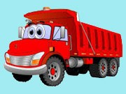 Cartoon Trucks Memory