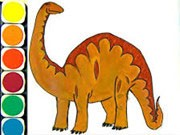 Dino Coloring Game