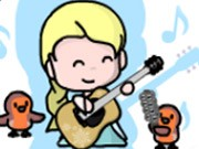 Play Elsa's Guitar Dreams Game on FOG.COM