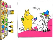 Play Moomin Coloring Book Game on FOG.COM