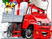 Play Santa Trucks Jigsaw Game on FOG.COM