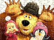 Jigsaw Masha And Bear