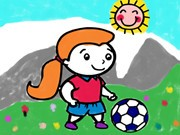 Play Footballs Coloring Book Game on FOG.COM