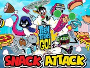 Play Teen Titans Snack Attack Game on FOG.COM