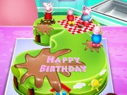 Fine Play Peppa Pig Birthday Cake Cooking Game Here A Animal Game On Funny Birthday Cards Online Eattedamsfinfo