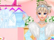 Play Wedding Style Cinderella Vs Rapunzel Vs Elsa Game on FOG.COM
