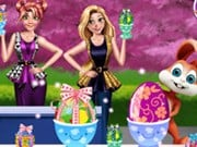 Girls Easter Chocolate Eggs