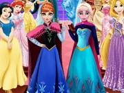Play Frozen Sisters Wax Statue Game on FOG.COM