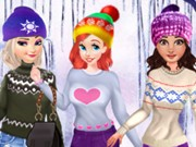 Play Princesses Cute Winter Sweater Game on FOG.COM