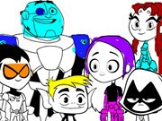 Teen Titans Go Coloring Book