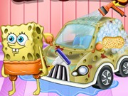 Play Spongebob Car Cleaning Game on FOG.COM