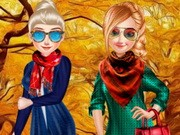 Play Sisters Fall Sweater Game on FOG.COM