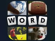 Play 4 Pic 1 Word Game on FOG.COM