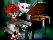 Play Talking Tom Piano Game Game on FOG.COM