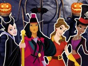 Play Princesses Halloween Night Game on FOG.COM