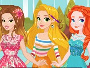Princesses Fall Style