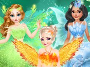 Play Princesses Fairies Dress Game on FOG.COM
