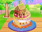 Play Doll House Cake Cooking Game on FOG.COM