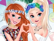 Anna And Elsa Summer Festivals