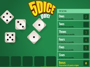 Play 5 Dice Duel Game on FOG.COM