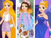 Rapunzel Fashionista On The Go