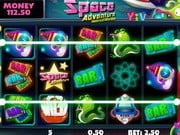 Play Slot Machine Space Adventure Game on FOG.COM