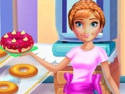 Play Annie Cooking Donuts Game on FOG.COM