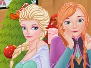 Play Frozen Sisters Christmas Day Game on FOG.COM