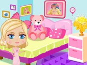 Play Barbie Clean Place Game on FOG.COM