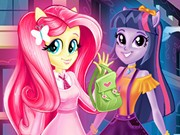 Play Equestria Girls First Day At School Game on FOG.COM