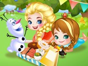 Play Elsa Princess Picnic Game on FOG.COM