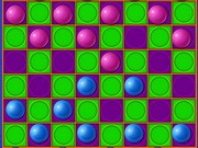 Play Neon Checkers Game on FOG.COM