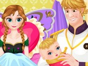 Frozen Anna Baby Birth