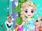 Play Baby Frozen Winter Party Game on FOG.COM