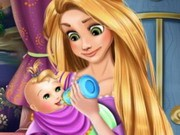 Play Rapunzel Baby Caring Game on FOG.COM