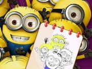 Play Minions Coloring Book Iii Game on FOG.COM