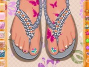 Play Toe Nail Design Game on FOG.COM