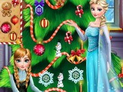Play Frozen Christmas Tree Design Game on FOG.COM
