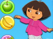 Play Dora Fruit Bubble Game on FOG.COM