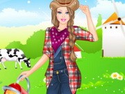 Play Barbie Farmer Princess Style Game on FOG.COM