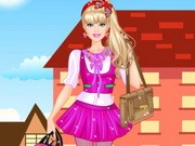 Barbie College Princess Dress Up
