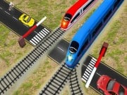 Play Euro Railroad Crossing : Railway Train Passing 3D Game on FOG.COM