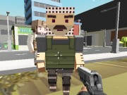 Block Pixel Cop : Gun Craft In Robbers World