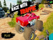 Play Ultimate MonterTruck Race With Traffic 3D Game on FOG.COM