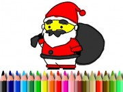 Play Bts Santa Claus Coloring Game on FOG.COM