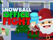Play Snowball Office Fight Game on FOG.COM
